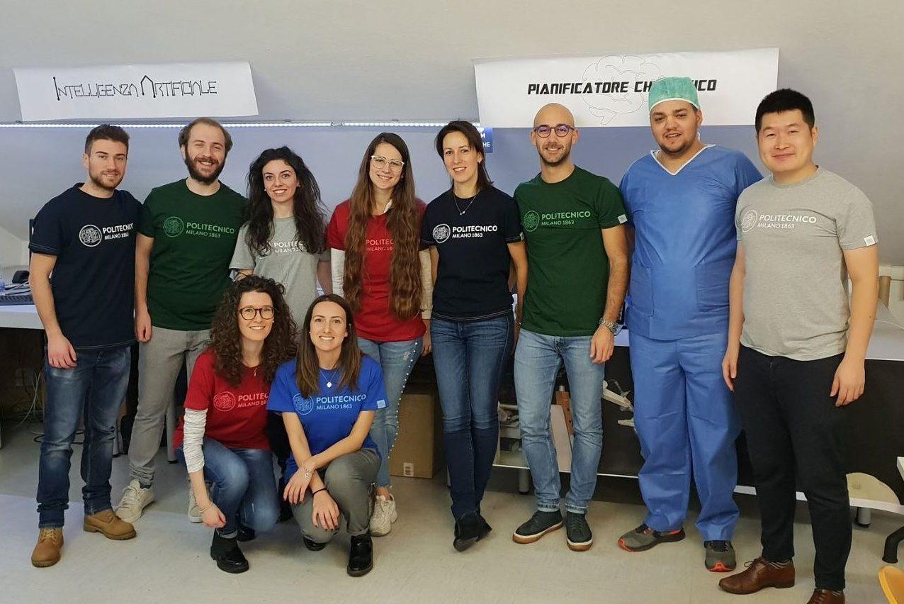 Near Lab Medical Robotics Section Members