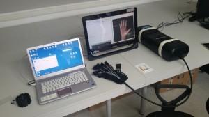 Hand rehabilitation setup