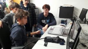 Robot-assisted hand rehabilitation