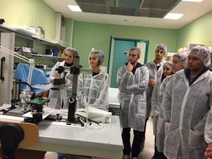 Visit at San Raffaele Research Hospita